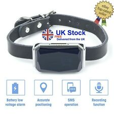 Dog Tracker with Collar Lightweight GPS Tracker Waterproof Rechargeable NO FEES