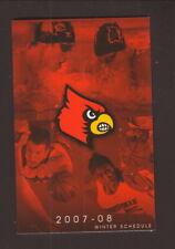 Louisville Cardinals--2002 Basketball & Swimming Schedule--Fischer's/Thorntons
