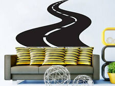 Road Street Highway Wall Decal Road Poster Vinyl Sticker Nursery Playroom NV113
