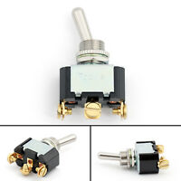 Toowei 12mm Toggle Interrupteur 3 Pin 3 Position ON-OFF-ON 10A 250VAC Niveau AF