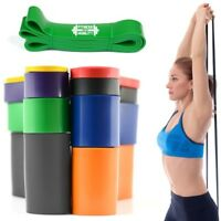 Heavy Duty Exercise Resistance Latex Loop Bands Fitness Home Yoga Gym Pull Up UK