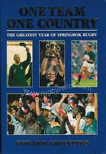 Il più grande anno di Springbok Rugby LIBRO Griffiths