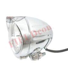 Buffalo 4.5'' Headlight Diamond Chrome Bottom Mount with Clear Lens S2u
