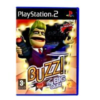 Playstation 2 Buzz The Big Quiz Ps2 Game Complete VGC game show trivia pal 3+