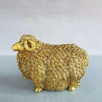 Noble Feng shui decor brass Tens of thousands of fu sheep lucky wealth Statue