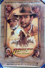 Indiana Jones Last Crusade Movie Poster One Sheet 1989 Free Shipping