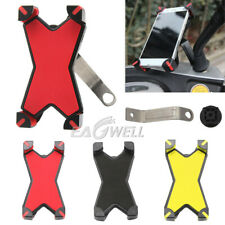 360° Rotating Motorcycle Scooter Handlebar Mount Holder Bracket For Phones GPS