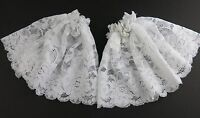 Lace Cuffs Victorian Edwardian Fancy Dress Steampunk Costume White Black or Lace