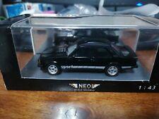 Neo 1/43 Opel Ascona B Sport black