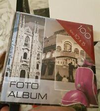 Album foto Vespa Piaggio  capienza 100 foto 10 x 15 nuovo raccoglitore