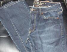 $69 AMERICAN EAGLE DARK BLUE WASH XTREME FLEX SLIM Straight JEANS SIZE 32-31 Reg