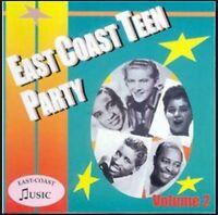 EAST COAST TEEN PARTY Volume 2 CD - NEW - 1950s rock 'n' roll - rhythm & blues