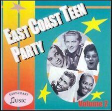 EAST COAST TEEN PARTY Volume 2 CD NEW 1950s rock 'n' roll rhythm & blues