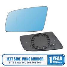 Left Side Heated Wing Mirror Glass Fits BMW E60 E61 2003-10 E63 E64 2004-11