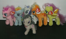 Lot of 6 My Little Pony Plush Toys