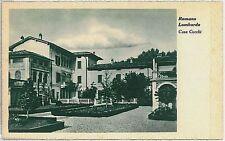 CARTOLINA d'Epoca  BERGAMO  - Romano di Lombardia : VILLA CUCCHI