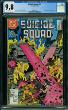 SUICIDE SQUAD 23 CGC 9.8 WHITE PAGE  NICE BOOK 1ST ORACLE A5