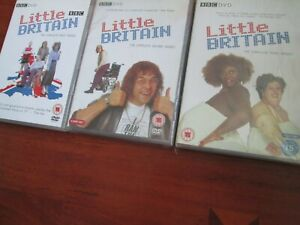 Little Britain - Complete Series 1 2 3 [DVD BOX SETS] NEW AND SEALED UK REGION 2