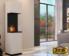 SIERRA - Free Standing contemporary Bio-Ethanol Bio Fireplace TUV Certified