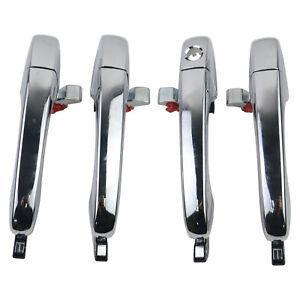 Front & Rear Door Handle For Chrysler 300C 05-10 Dodge Magnum 05-08 5065800AG