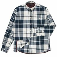 PAUL SMITH Brushed cotton checked shirt