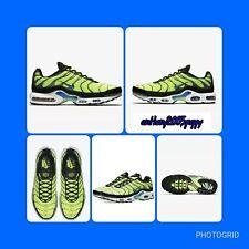 Nike Air Max TN Plus | UK 8.5 EU 43  852630-700 Volt/Black/Grey/Photo Blue