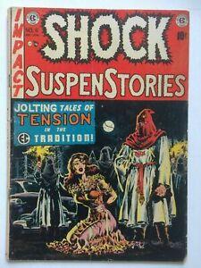 Shock Suspenstories #6, UNRESTORED, very nice, Bondage