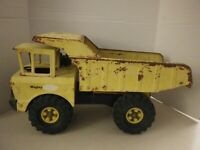 "Vintage Mighty Tonka Dump Truck 19"" Pressed Steel XMB-975"