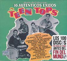 Los Teen Tops 16 Autenticos Exitos CD Caja de carton New Sealed
