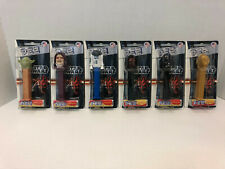 Set of 6 Star Wars collector edition PEZ new in package never opened