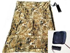 Electric Blanket/seat heater combo - Perfect for Deer Blind or Football Games
