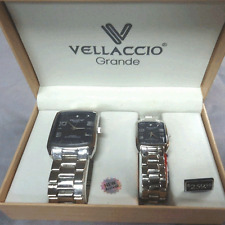 Vellaccio Grande His & Her Set Watches, watch, wristwatch. NEW IN GIFT BOX