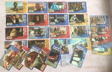 Japanese Rare Star Wars Meiji Snacks Insert Card Set (30) Unused