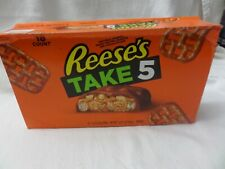Reese's Take 5 Candy, Peanut Butter Milk Chocolate Bar, 1.5 Ounce (Pack of 18)