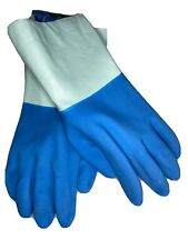 5xPAIRS Fair Trade GARDENING GLOVES Outdoor Lined Rubber Gloves LARGE