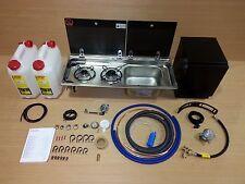 Smev Dometic 9722 Campervan Sink & Cooker / Hob Combo - EN1949 GAS LOCKER KIT -