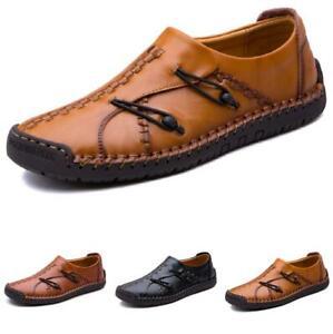 38-48 Men Driving Moccasins Shoes Pumps Slip on Loafers Flats Comfy Breathable L