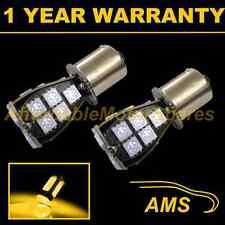 2X 581 BAU15S PY21W XENON AMBER 21 SMD LED REAR INDICATOR LIGHT BULBS RI201902