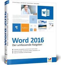 Word 2016 von Daniel Peyton, Olaf Altenhof, Christine Peyton und Andre Möller (2016, Gebundene Ausgabe)