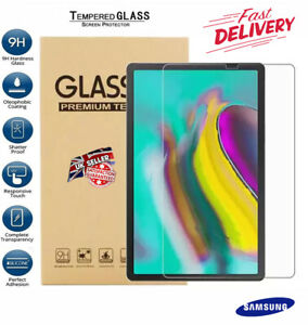 """Tempered glass Screen Protector For Samsung Galaxy Tab S5e 10.5"""" T720 T725 2019"""