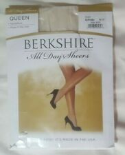 Women's Berkshire All Day Sheers Queen Pantyhose Sandalfoot Ivory Q/Petite