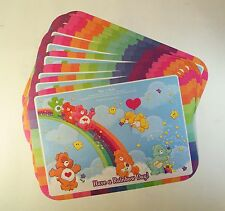 24 Care Bear Activity Paper Placemats
