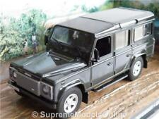 Land Rover Defender Model Car 1 43 Size James Bond Collection Grey Casino T3z