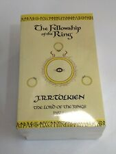 J.R.R. Tolkien The Lord of the rings 1/2/3 Brand New books
