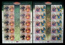 Tropical Birds Malaysia Singapore 2002 Joint Issue Nature Wildlife (sheetlet MNH