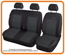 Tailored seat covers for Opel Vivaro  LEFT HAND DRIVE 1+2   (P1)
