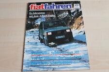 107476) Fiat Panda 4x4 - Carlo Abarth Story - Fiat fahren 06/1984