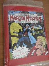 """MARTIN MYSTERE Busta fumetti + Calcarelli """"I tesori di Altrove"""""""