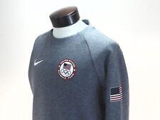 NIKE Tech Sweatshirt United States Olympic Team Gray USA 843915-091 Men's M