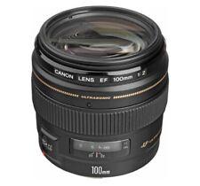 CANON EF 100mm f/2 USM Lens Full Frame DSLR for EOS 7D 6D 5D 1D 5DS R RPR5